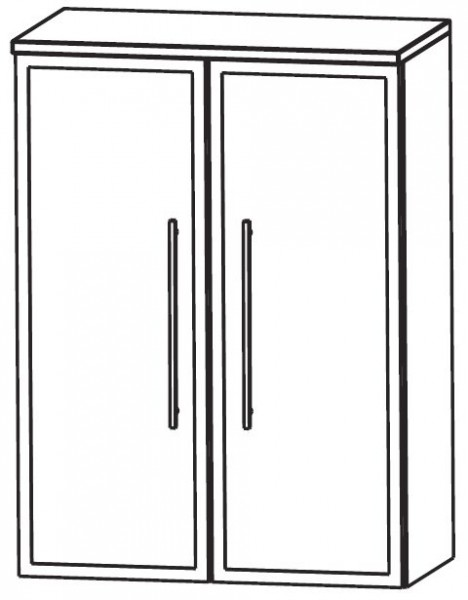 Puris Crescendo Bad-Highboard 60 cm breit HBA516B7