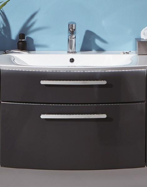 puris linea waschtisch mit unterschrank 71 2 cm breit setln701 badm bel 1. Black Bedroom Furniture Sets. Home Design Ideas