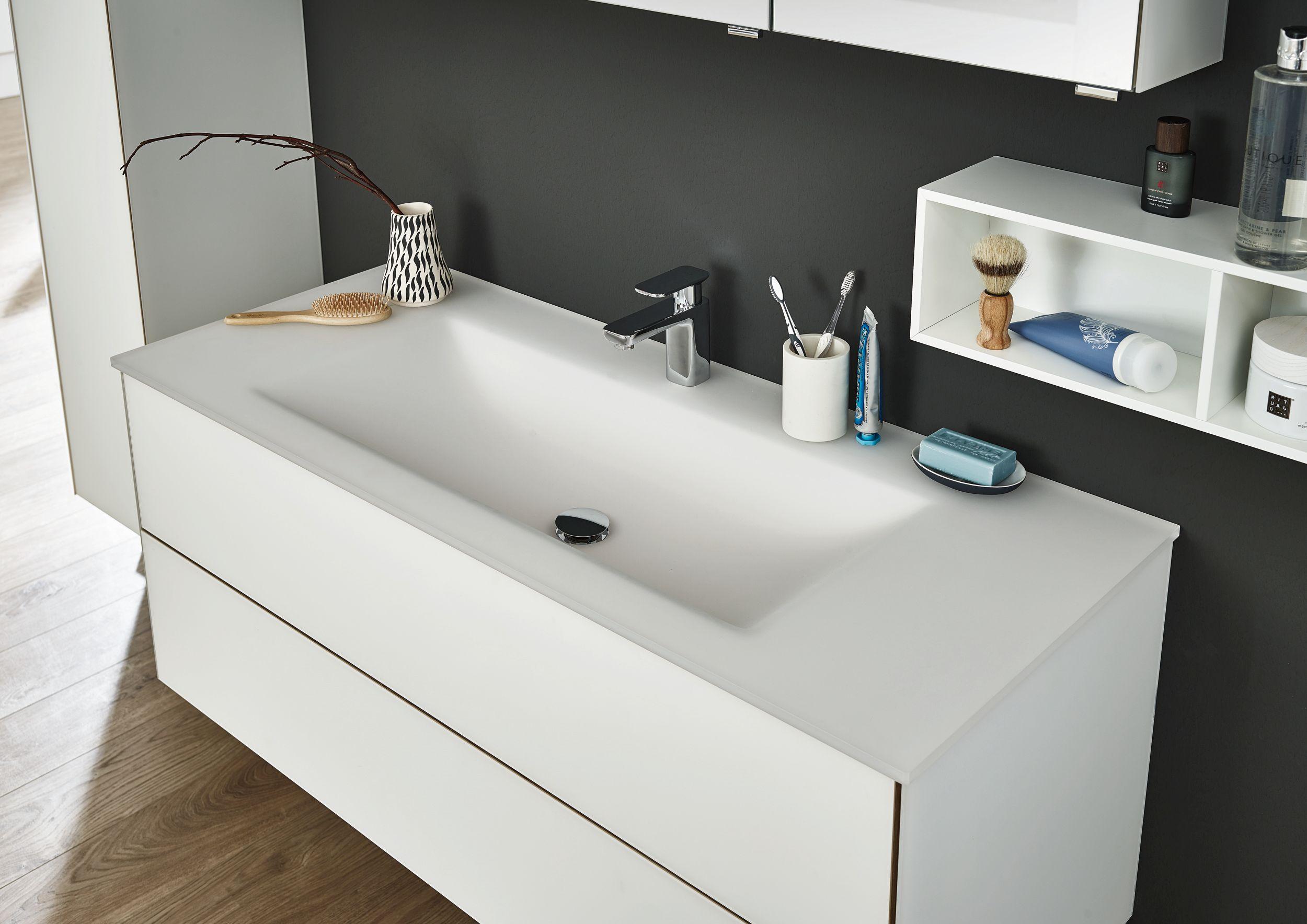 Relativ Puris Ice Line Glas Waschtisch maßvariabel | Badmöbel-1 LH77