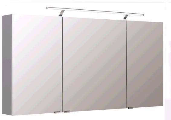 Pelipal Spiegelschrank 140 cm S5-SPSD 25 - Neutraler Spiegelschrank