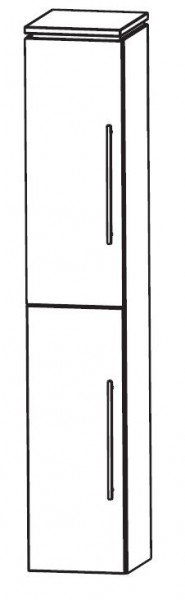 Puris Cool Line Bad-Hochschrank 40 cm breit HNA034A5
