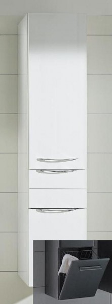 Pelipal Solitaire 6025 Hochschrank mit Wäschekippe 45 cm 6025-HSW 45-04