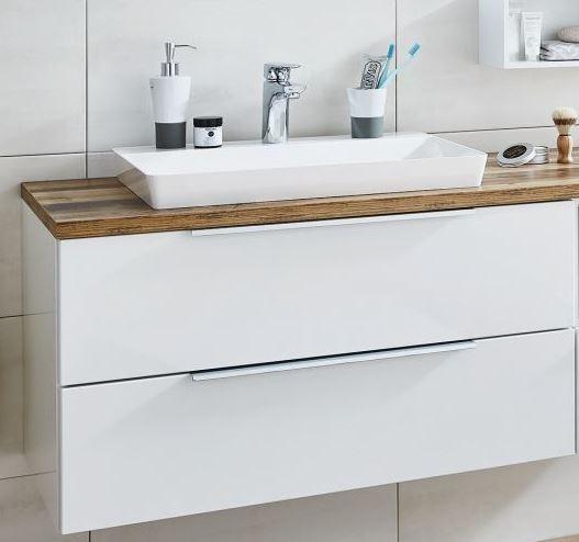 Puris Aspekt Waschtisch mit Unterschrank - 90 cm breit