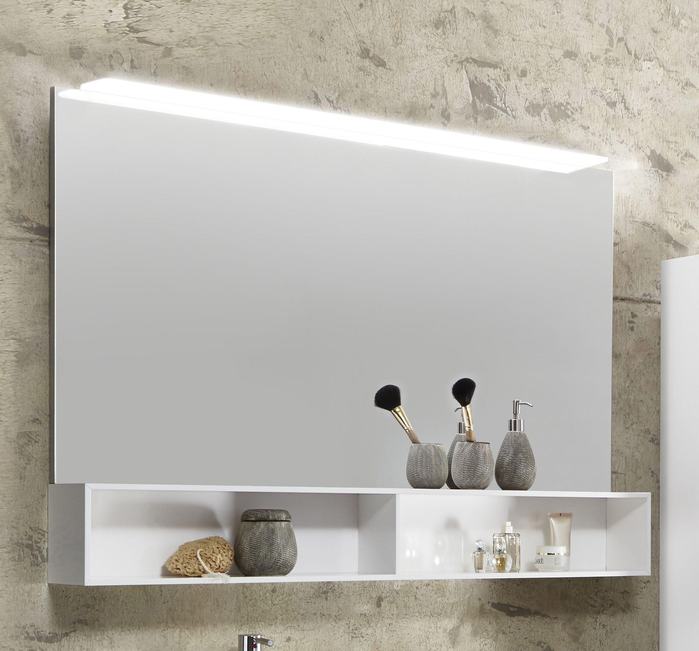 Badezimmerspiegel 120 Cm.Marlin Bad 3110 Badspiegel 120 Cm Breit Spaba12 L R Badmobel 1