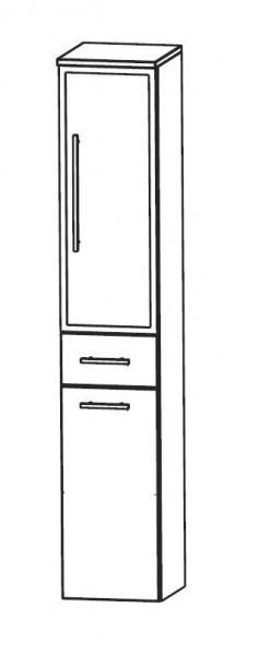 Puris Speed Bad-Hochschrank 30 cm breit HNA053B