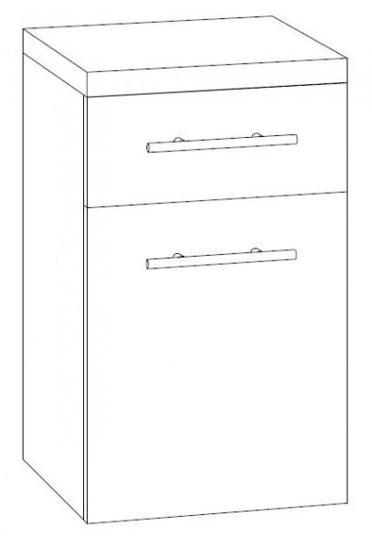 Marlin Bad 3090 – Cosmo Bad-Unterschrank 40 cm breit UST4F L/R