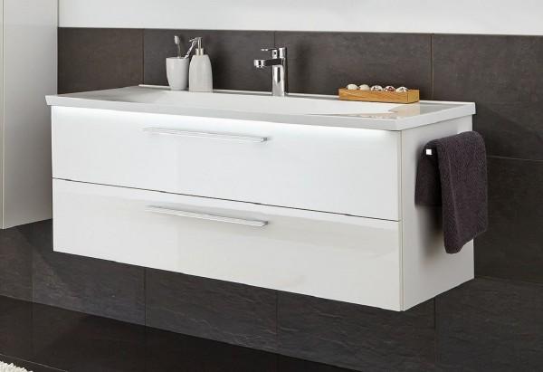 Puris Brillant Badmöbel Set 120,6 cm breit kombinierbar