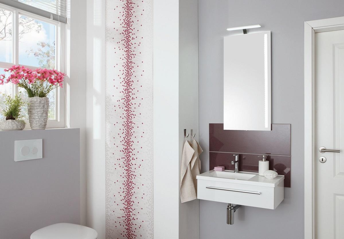 Puris for guests badm bel set 60 6 cm breit kombinierbar for Badmobel set 60 cm breit
