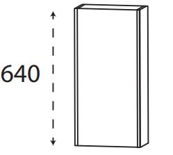 Puris Xpression - Oberschrank OGA413A1G - 30 cm