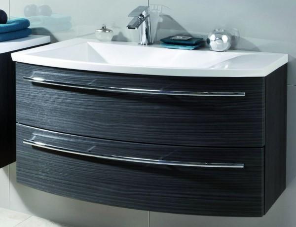 Puris Crescendo Waschtisch mit Unterschrank 90 cm breit - Becken links