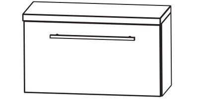 Puris Fine Line Bad-Unterschrank 60 cm breit UMA216A7K