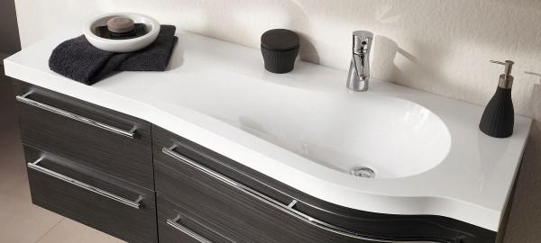 Puris Swing Waschtisch maßvariabel – Becken rechts