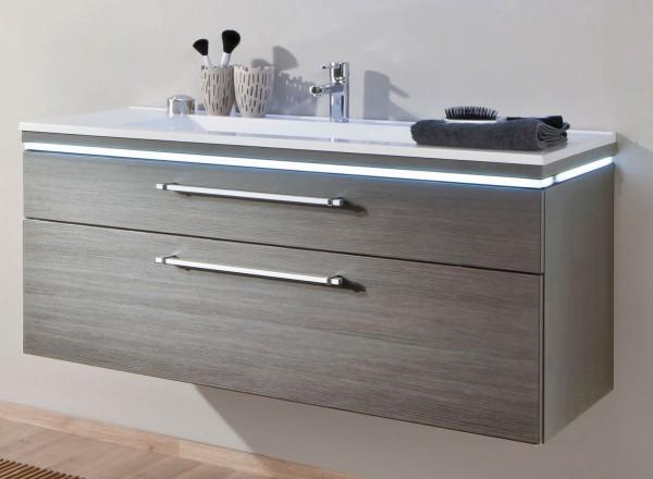 Puris Cool Line Waschtisch mit Unterschrank 122 cm breit