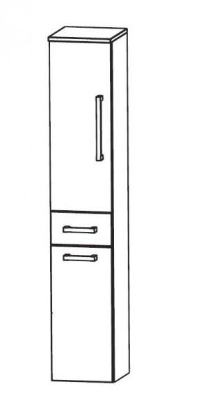 Puris Speed Bad-Hochschrank 30 cm breit mit Wäschekippe HNA053AW