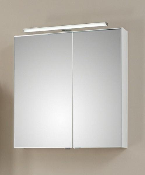 Pelipal Solitaire 6110 Spiegelschrank mit LEDplus-Aufsatzleuchte 60 cm breit 6110-SPS 09
