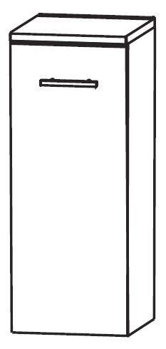 Puris Fresh Bad-Highboard 30 cm breit HBA413W01