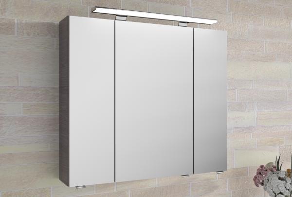 Pelipal Fokus 4010 Spiegelschrank mit Aufsatzleuchte 80 breit 4850._8050