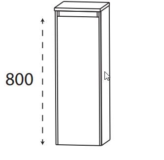 Puris Xpression - Highboard HBA513DGL - 30 cm