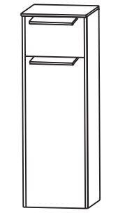Puris d.light Bad-Highboard 32,2 cm breit HBA553AWD