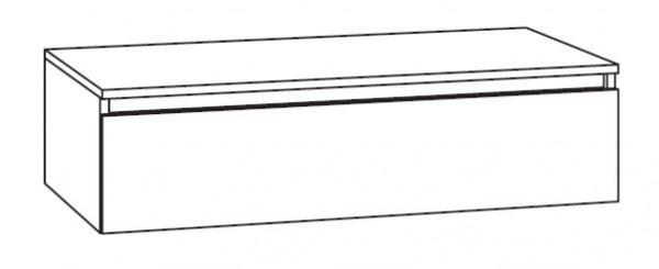 Marlin Bad 3290 Bad-Unterschrank mit Abdeckplatte 97 cm breit, variabel