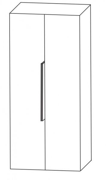 Puris Aspekt Bad-Mittelschrank - mit 2 Drehtüren und Ablageplatte