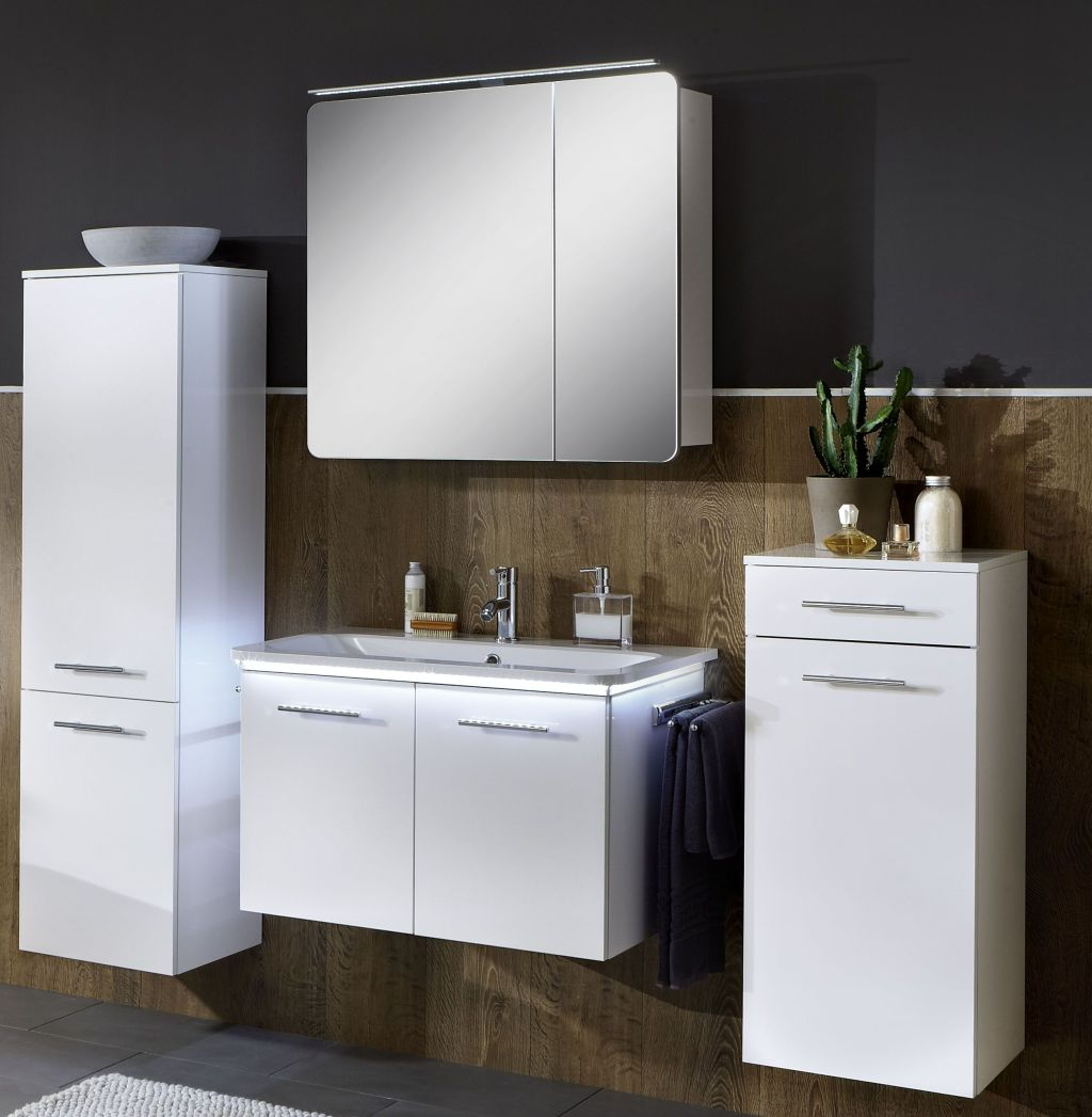 marlin bad 3020 life badm bel set 80 cm breit kombinierbar badm bel 1. Black Bedroom Furniture Sets. Home Design Ideas