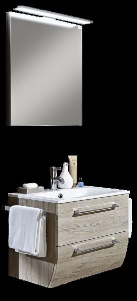 Marlin Bad 3130 - Azure Badmöbel Set 60,5 cm breit