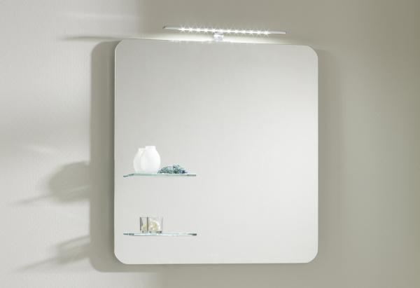 Pelipal Solitaire 6900 Badspiegel 68 cm breit NT-SP 06 - Ablage links