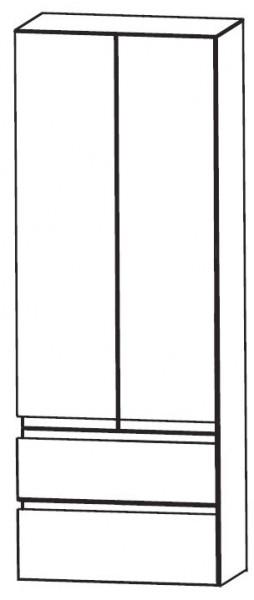 Puris Purefaction Bad-Hochschrank 60 cm breit HNA08604