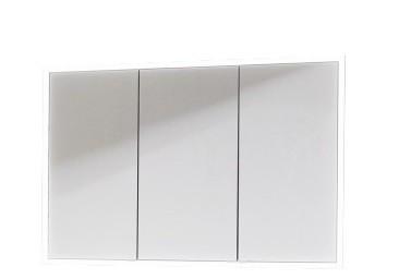Puris Xpression - Einbauspiegelschrank - 125 cm / LED-Alurahmen