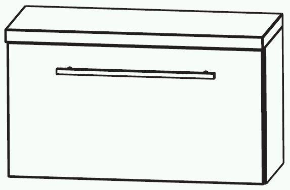 Puris Swing Bad-Unterschrank 60 cm breit UMA216A7K