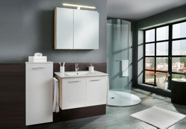 marlin bad 3030 christall badm bel set 1 80 cm breit badm bel 1. Black Bedroom Furniture Sets. Home Design Ideas