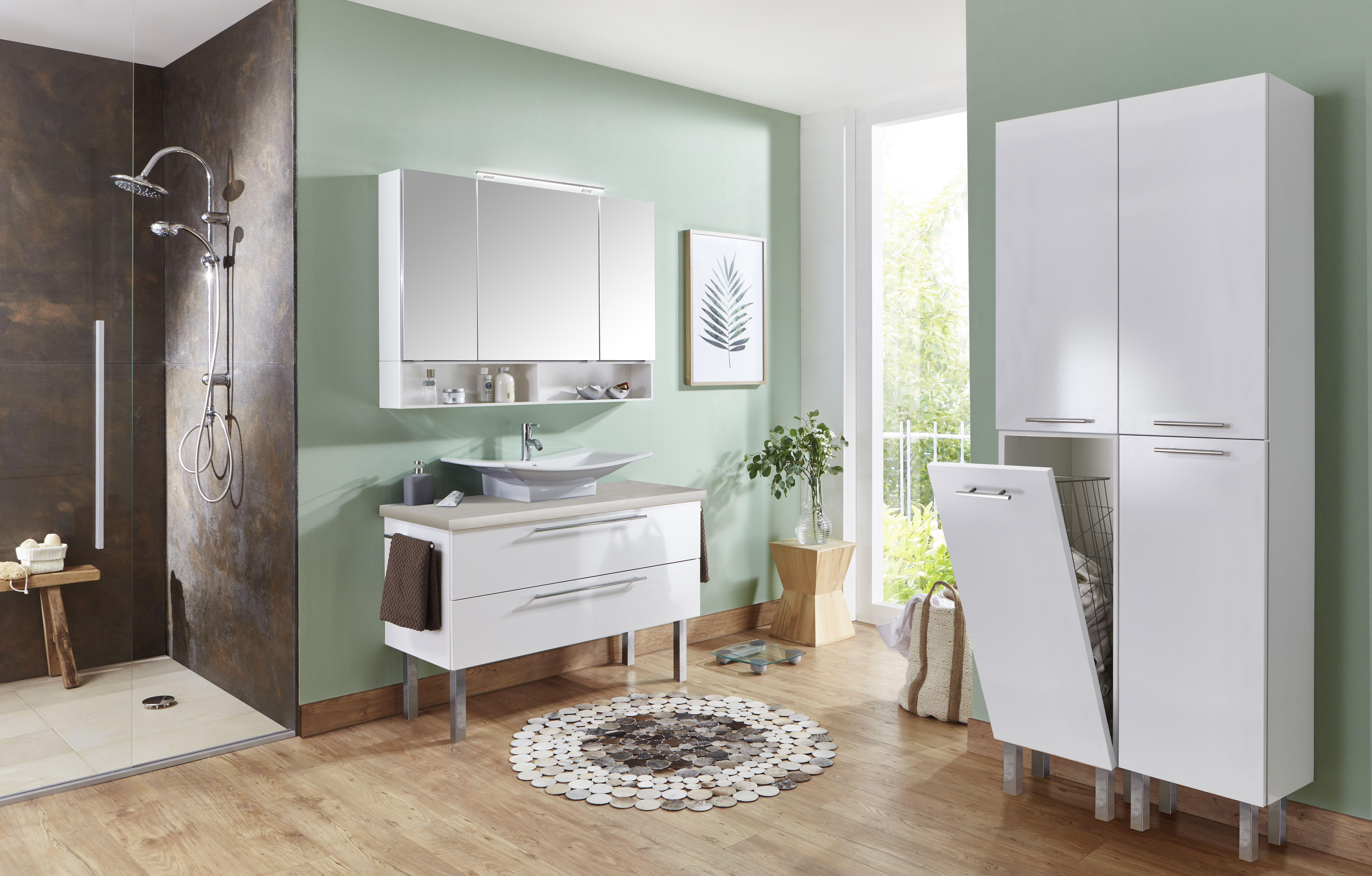 marlin bad 3110 spiegelschrank 120 cm breit salf12. Black Bedroom Furniture Sets. Home Design Ideas