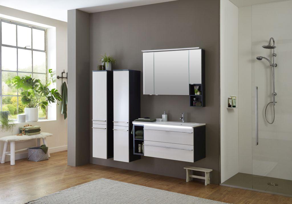 marlin bad 3250 bad spiegelschrank 100 cm breit sadr10r. Black Bedroom Furniture Sets. Home Design Ideas