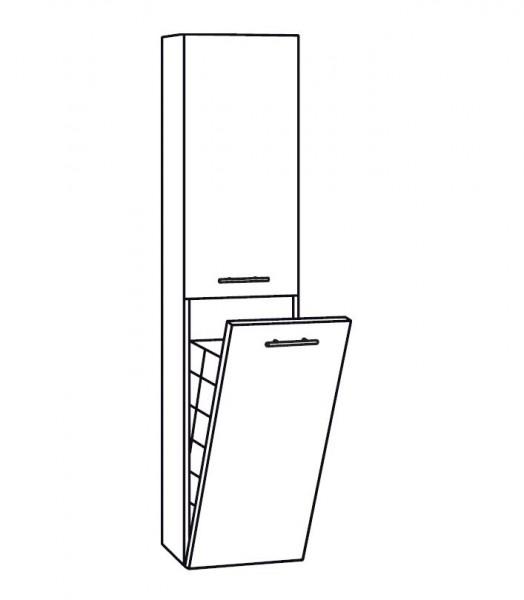 Marlin Bad 3130 - Azure Bad-Hochschrank 40 cm breit HTW4