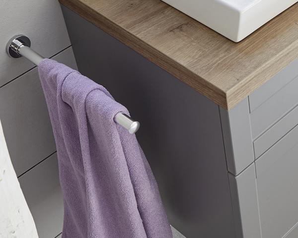 Pelipal Handtuchhalter zur Wandmontage, rund, ausziehbar HHW 1-32-cgl-NE