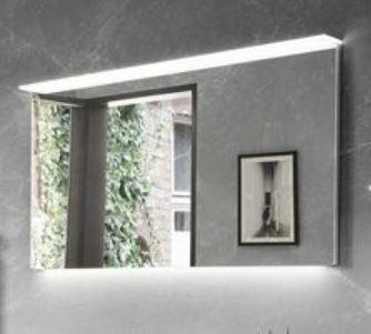 b.essence - Flächenspiegel inkl. Beleuchtung 80 cm breit