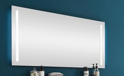 Puris Protection1 - Flächenspiegel 120 cm / seitlich oder waagerecht beleuchtet