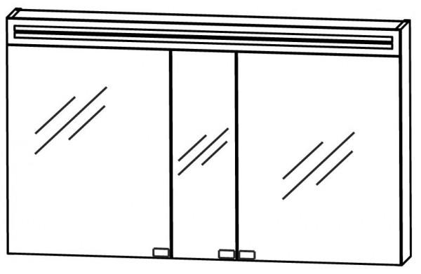 Puris Star Line Spiegelschrank 120 cm breit S2A58125
