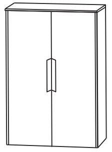 Puris d.light Bad-Highboard 62,2 cm breit HBA516A D