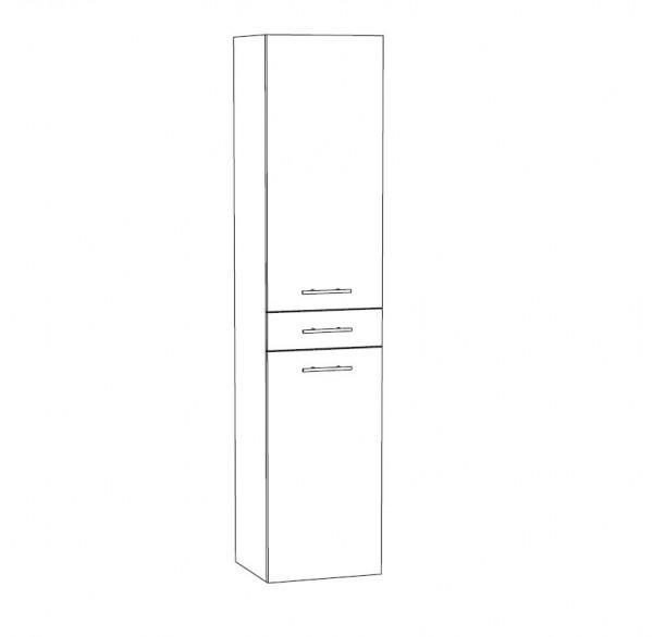Marlin Bad 3250 Bad-Hochschrank 40 cm breit HTST4