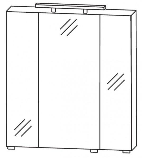 Puris Quada Spiegelschrank 70 cm breit S2A537067