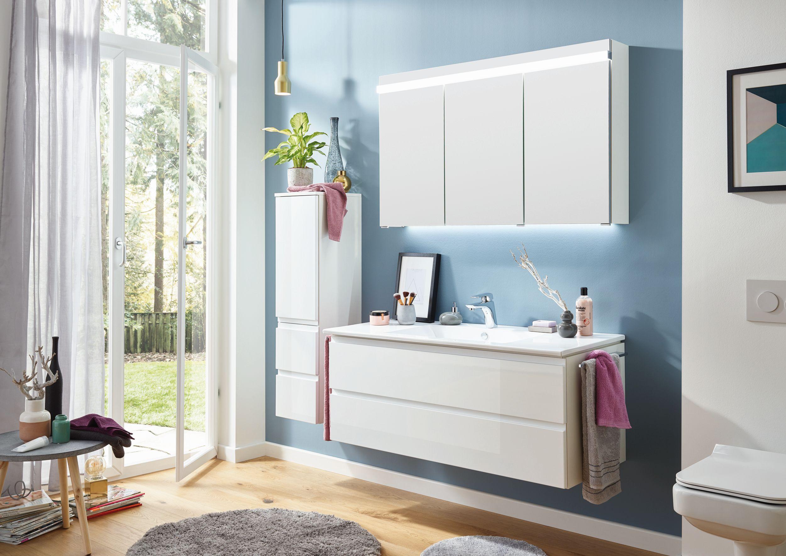 puris ace spiegelschrank 120cm breit s2a432s72 badm bel 1. Black Bedroom Furniture Sets. Home Design Ideas