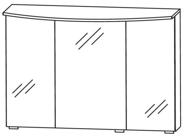 Puris Vuelta Bad-Spiegelschrank 90 cm breit S2A439S 3 / S2A439SF3