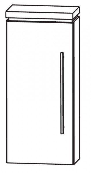 Puris Cool Line Bad-Oberschrank 30 cm breit OGA413A5