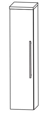 Puris Kao Line Bad-Mittelschrank 30 cm breit MNA813A7 L/R