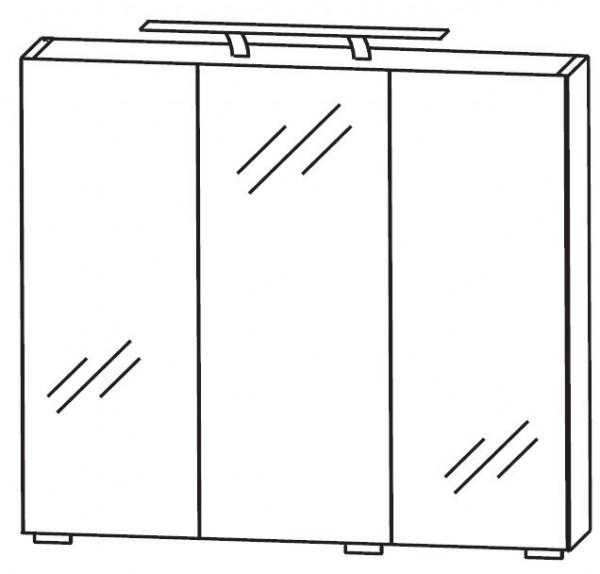Puris Fresh Spiegelschrank 70 cm breit S2A437067