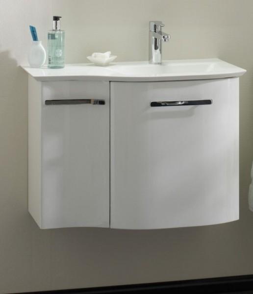 Pelipal Solitaire 6900 Waschtisch mit Unterschrank 71 cm breit - Becken rechts