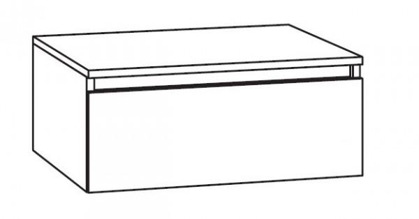 Marlin Bad 3290 Bad-Unterschrank mit Abdeckplatte 60 cm breit, variabel