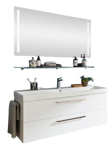 Puris Protection1 - Badmöbelset 120 cm / mit Flächenspiegel